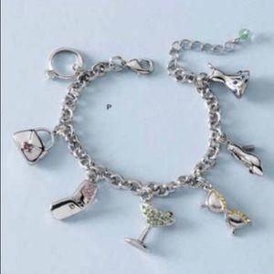 """Lia Sophia """"Party Girl"""" charm bracelet"""